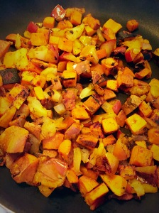 apple and sweet potato
